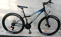 """Велосипед гірський AZIMUT """"Forest"""" 26 """"рама 13"""", чорно-синій, фото 1"""