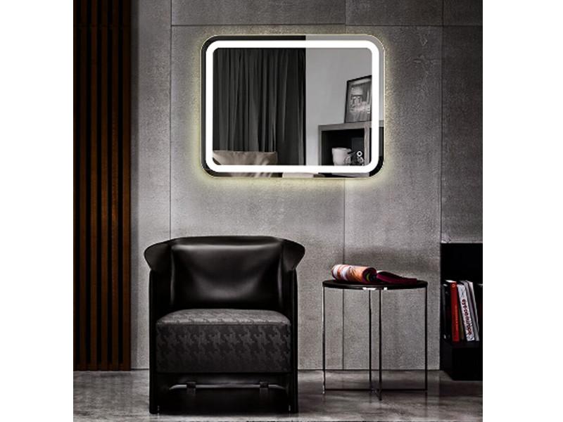 Дзеркало Intense 65431800 ASIGNATURA, Дзеркало для ванної кімнати з LED підсвічуванням 100 * 60 см