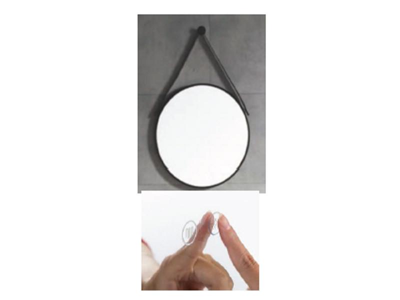 Зеркало с LED подсветкой Unique 85401802 ASIGNATURA, Зеркало для ванной комнаты круглое 60*60 см