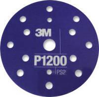 3М™34422 - Гибкий полировальный абразивный диск CROW, d150 мм, P1200