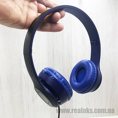 Наушники проводные BOROFONE B05 (Blue), фото 3