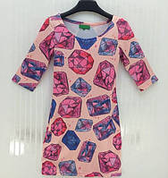 Платье 3д в стиле ISWAG бриллианты