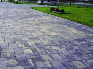 """Тротуарная плитка """"Модерн"""" без фаски 225/300/450х300 высота 60 мм колор-микс, фото 2"""