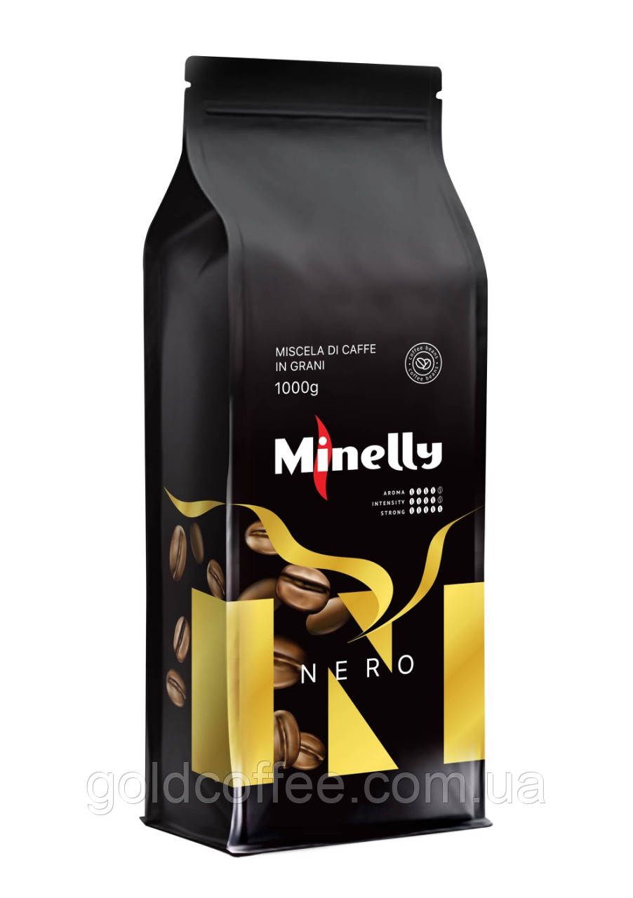 Зерновий кави Minelly Nero, 1кг