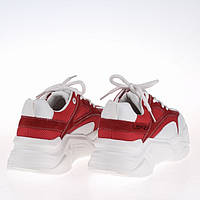 Яркие женские кроссовки Lonza F91789-2 RED / сетка /  весна 2020, фото 1