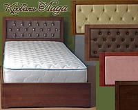 Кровать подростковая детская 120Х200 «Лада» с ящиками белая из дерева от производителя