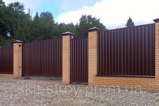 Профнастил ПС10 и ПС20 Оptima Steel 0,5мм