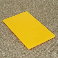 Накладки Микарта  № 92452 желтая 4х80х130 мм, фото 1