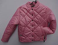 ХИТ!!! Модная подростковая демисезонная стеганная куртка бомбер на девочку с 12-16лет много цветов, фото 1