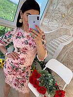 Женское нарядное кружевное платье  Класса  Люкс