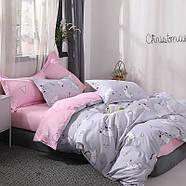Комплект постельного белья Котенок и клубок (полуторный) серый, фото 3