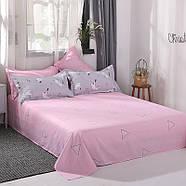 Комплект постельного белья Котенок и клубок (полуторный) серый, фото 4