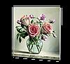 """Керамический дизайн-обогреватель UDEN-S """"Садовые розы"""" RAL 1013, фото 2"""