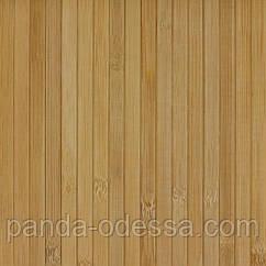 В пределах отрезка 2 м.п. / Бамбуковые обои темные, 0,9 м, ширина планки 12 мм / Бамбукові шпалери