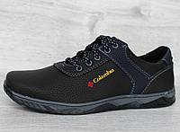 40, 41 і 42 р. Кросівки чоловічі демісезонні чорного кольору кроссовки