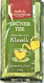 Чай зеленый Westminster Gruner Tee klassik 250 г