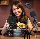 Набор блогера 3 в 1. Кольцевая лампа с держателем для микрофона и телефона. Professional Live Stream, фото 5