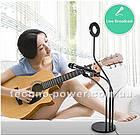 Набор блогера 3 в 1. Кольцевая лампа с держателем для микрофона и телефона. Professional Live Stream, фото 7
