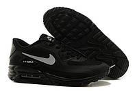 """Кроссовки мужские Nike Air Max 90 LUNAR """"Черные"""" р. 42, 43, фото 1"""