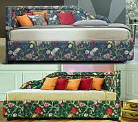 Кровать односпальная деревянная 80х190 «Кармен» с ящиками белая от производителя из дерева