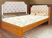 Кровать односпальная деревянная 80х190 «Луиза» с ящиками белая от производителя из дерева