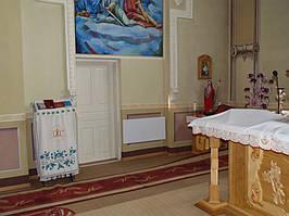 Автономное электрическое отопление в Церкви св. Параскевы - 1926 г., Тернопольская область, с. Мухавка, улица Грушевского  5