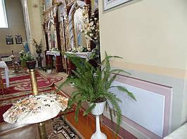 Автономное электрическое отопление в Церкви св. Параскевы - 1926 г., Тернопольская область, с. Мухавка, улица Грушевского  1