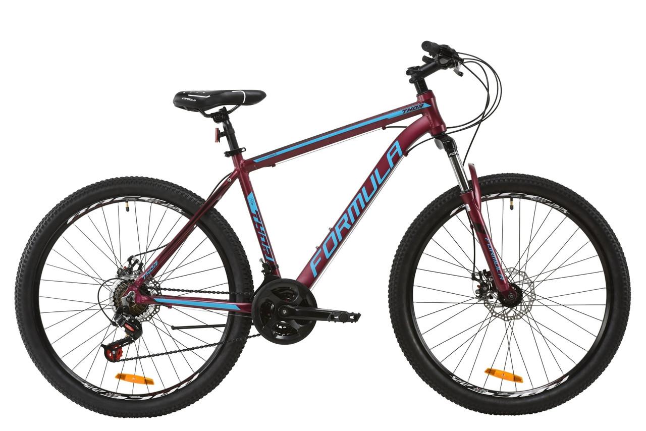 """Горный алюминиевый велосипед  27.5"""" Formula THOR 2.0 DD 2020 AL"""