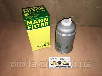 WK842/2 Фильтр топливный МАЗ ЕВРО, IVECO EUROCARGO (TRUCK) (пр-во MANN)
