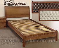 Кровать подростковая детская 80х190 «Афродита» с ящиками белая из дерева от производителя