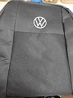 Чехлы на Volkswagen Polo (седан,1/3) 2009- / авто чехлы Фольксваген Поло (эконом)
