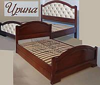 Кровать подростковая детская 80х190 «Ирина» с ящиками белая из дерева от производителя