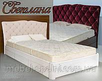 Кровать подростковая детская 80х190 «Светлана» с ящиками белая из дерева от производителя