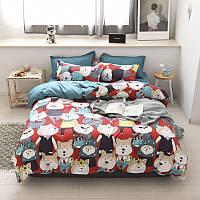 Полуторный комплект постельного белья Mr Shiba Inu, фото 1