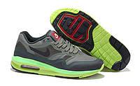 """Кроссовки мужские Nike Air Max Lunar1 WR Iron Green """"Черно-зеленые"""" р.41-44"""