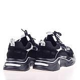 Стильные женские кроссовки  Lonza 8282 BLACK весна 2020, фото 2