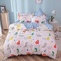 Полуторный комплект постельного белья Dino, фото 1