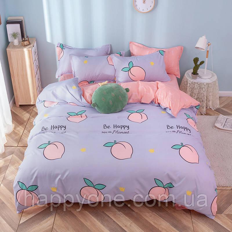 """Полуторный комплект постельного белья """"Персик"""""""