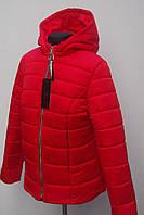 Красивая демесезонная женская куртка Больших размеров 48р-54р, фото 1