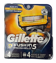 Gillette Fusion5 ProShield сменные кассеты (4 шт) USA