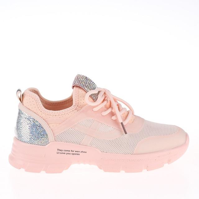 Женские легкие кроссовки Lonza HLN912 PINK ВЕСНА 2020 /// 912 pink (PP)