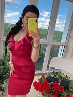 Женское красное платье   Класса  Люкс