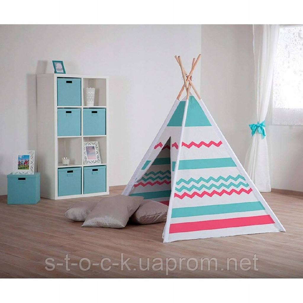 Деревянная палатка TIPI  Blue-Big 130077204 Джон