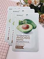 Тканевая маска увлажняющая с авокадо EUNYUL Natural Moisture Mask Pack Avocado - 22 г