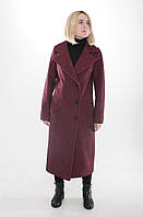 Пальто женское Л-600 бардо, фото 1