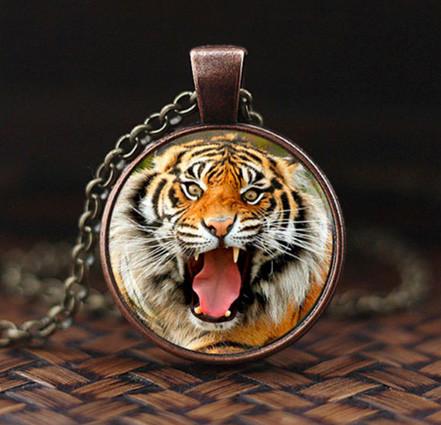 Кулон мужской тренд Тигр