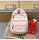 Рюкзак набор женский 3в1 ( клатч, пенал) розовый (AV237), фото 2
