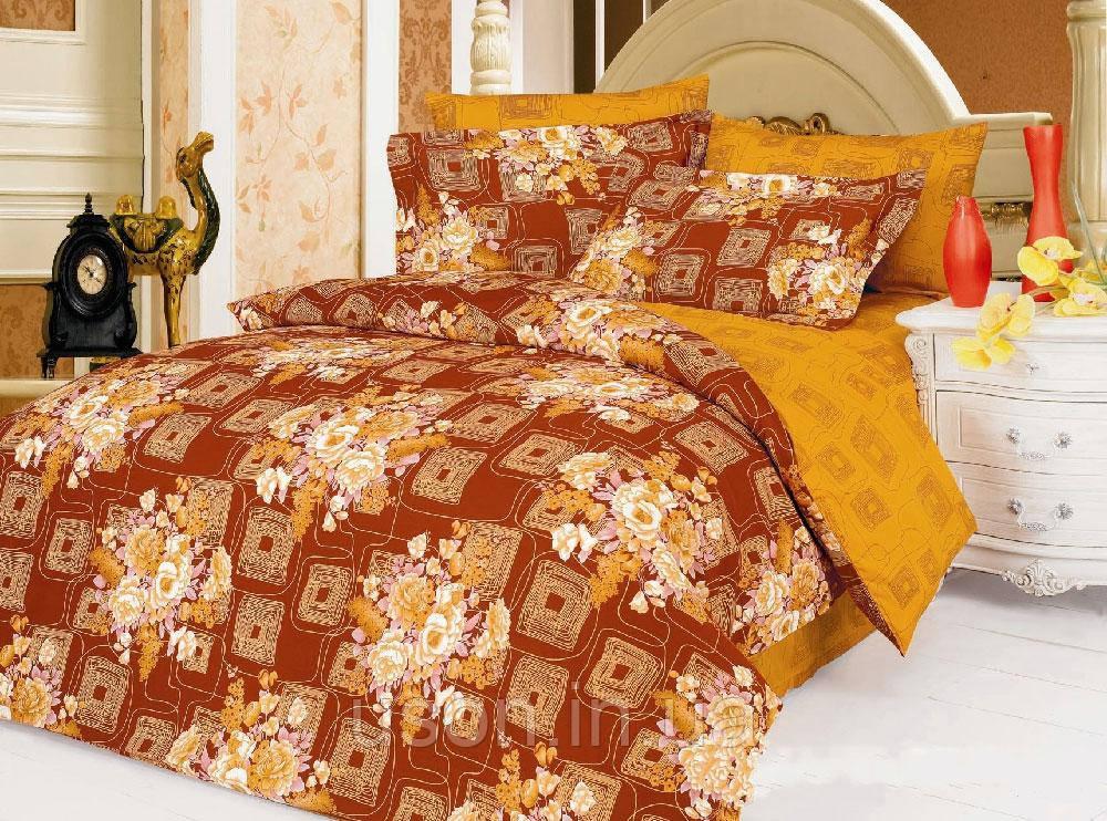 Комплект постельного белья  le vele сатин размер евро Christina