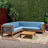Набор садовой мебели из 4 секций, фото 2