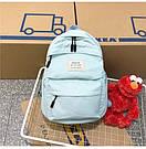 Рюкзак набор женский 3 в 1 ( клатч, пенал) голубой (AV237), фото 2
